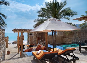 Six Senses Zighy Bay Pool Villa Beachfront Villa Select Luxury Travel Oman