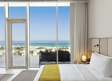 Premier Suite Bedroom _The Oberoi Beach Resort Al Zorah Ajman