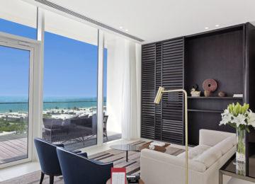 Premier Suite Living _The Oberoi Beach Resort Al Zorah Ajman