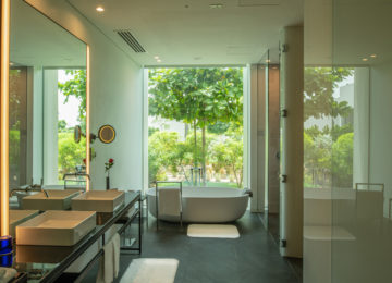Premium Three Bedroom Villa_Bathroom _The Oberoi Beach Resort Al Zorah Ajman