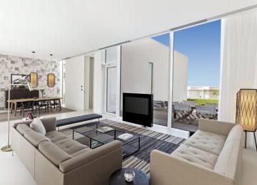 Premium Three Bedroom Villa_Living _The Oberoi Beach Resort Al Zorah Ajman