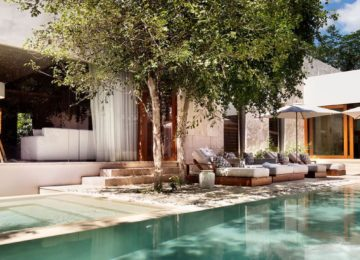 Presidential Villa Pool©Chablé Resort