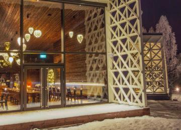 Rakas Restaurant Bar Artic TreeHouse Hotel Finnland Lappland