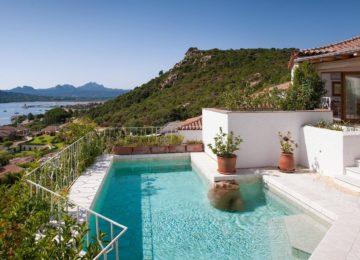 Pool mit Meerblick ©Villa del Golfo Lifestyle Resort