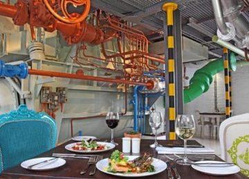 Restaurant ©Turbine Boutique Hotel