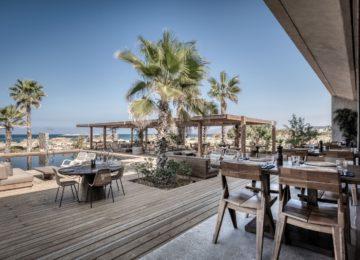 Restaurant Strandhaus ©Domes Zeen Chania