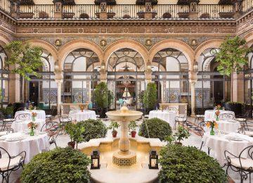Restaurant Patio Alfonso XIII © Marriott