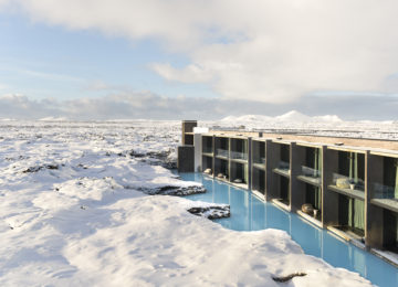 The Retreat Blue Lagoon Island im Winter