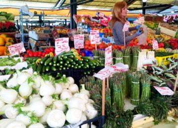 Rialto Markt Gemüse © Privat DG