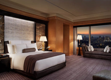 Ritz-Carlton Suite – Bedroom ©The Ritz Carlton Tokyo