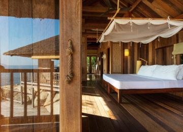 Rock Villa Schlafzimmer © Six Senses Ninh Van Bay