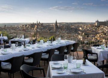 Rooftop Restaurant©Hotel Parador de Toledo
