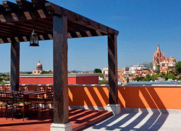 Rosewood San Miguel Allende Dach