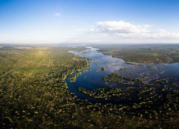 Africa, Zambia, Sanctuary Sussi & Chuma