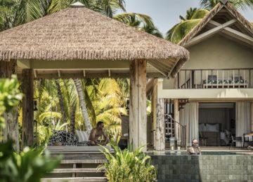 SUNSET-VIEW POOL VILLA©Four Seasons Resort Desroches Island