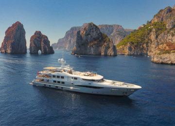 Luxusyacht chartern