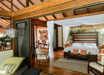 Schlafzimmer©Hotel Pacuare Lodge