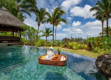 Tray Villa mit Pool und Meerblick ©Shanti Maurice