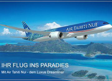 Tahiti Select Luxury Travel Air Tahiti Nui