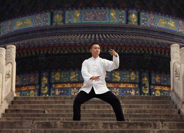 Stairway to Heaven Chi Master © The Peninsula Beijing
