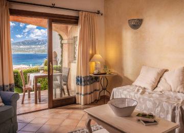 Suite Wohnbereich ©Villa del Golfo Lifestyle Resort