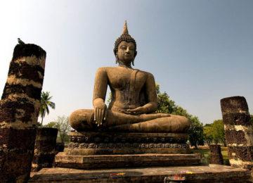 Sukhothai Wat Mahathat © Thailändisches Fremdenverkehrsamt