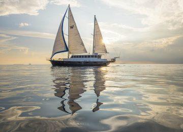 Sunset cruise on Escape©WMaldives