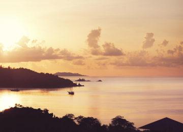 Sunset-view-Exterior-view©Hotel Raffles Praslin