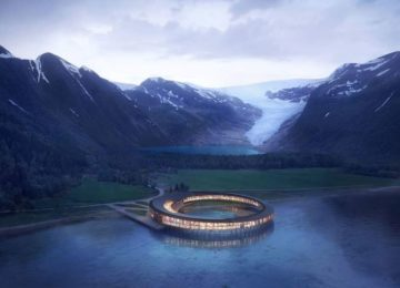 Svart Glacier Hotel © Visitnorway