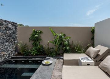 Tarina Suite mit privatem Pool©Istoria Hotel, a Member of Design Hotels, Santorin