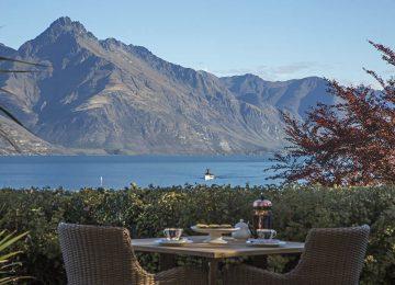 Terrase mit Blick auf Lake © Hulbert House