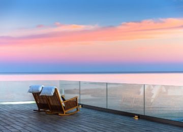 Terrasse©Abaton Island Resort & Spa Kreta