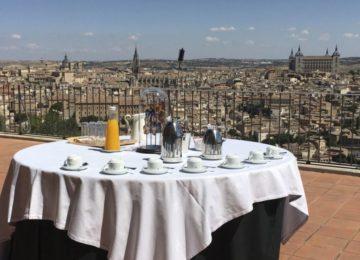 Terrasse©Hotel Parador de Toledo