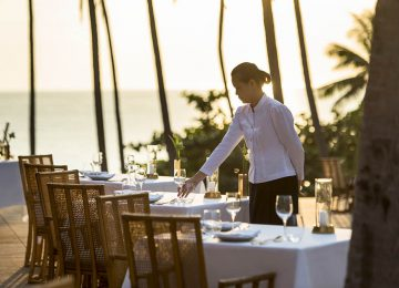 Thai Restaurant Exterior Tables