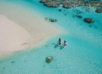 The BRANDO_Standuppaddling©Tekura Tahiti Travel