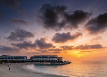 The Bvlgari Resort Dubai – Beach by sunset