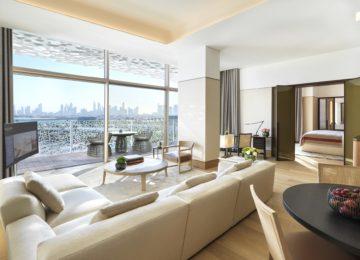 The Bvlgari Resort Dubai _ Deluxe Suite – Living Room