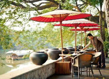 The Restaurant Deck © Anantara Chiang Mai Resort