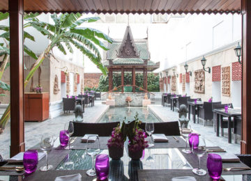 The Spice Route Courtyard © The Imperial Hotel