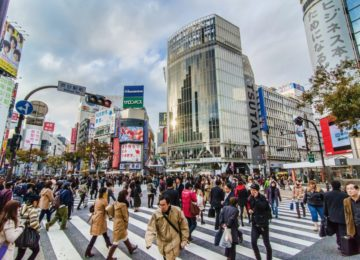 Tokio Shibuya crossing © Destination Asia