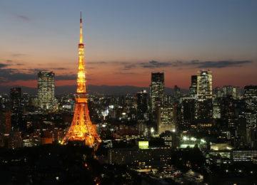 Tokyo Tower by Ngiht © JTNO