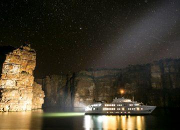 True North at Night©True North Adventure Cruises