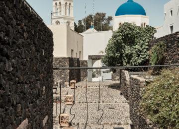 Blaue Kuppel©Vedema, a Luxury Collection Resort, Santorin