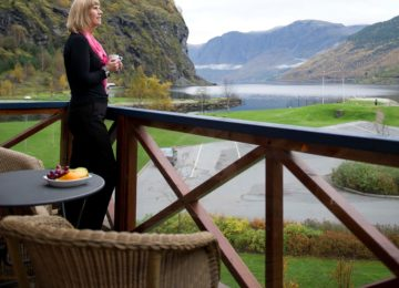 View Terrace©Flåmsbrygga Hotel Norwegen