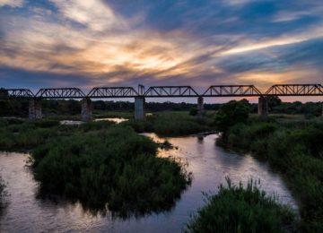 View of the Skukuza Bridge