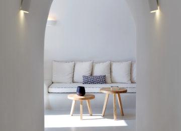 Villa Anastasia architektonische Details©Hommage Villa Collection, Santorin, Firostefani