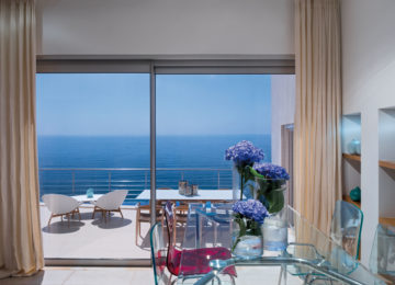 Villa Mar Azul Innenansicht des Esstisches