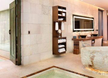 Villa Royal Badezimmer©Chablé Resort