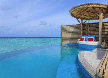 Water Pool Villa Deck©Milaidhoo Maldives