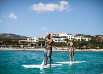 Wassersport Paddel Boot©Hotel Romazzino